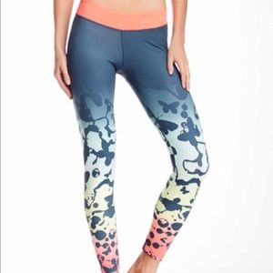 Adidas butterfly print leggings